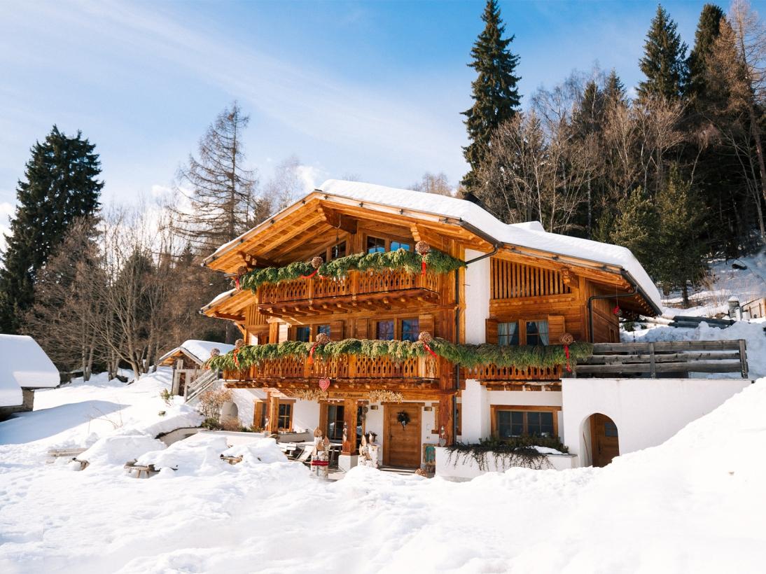 Chalet Fogajard inverno in Val Rendena