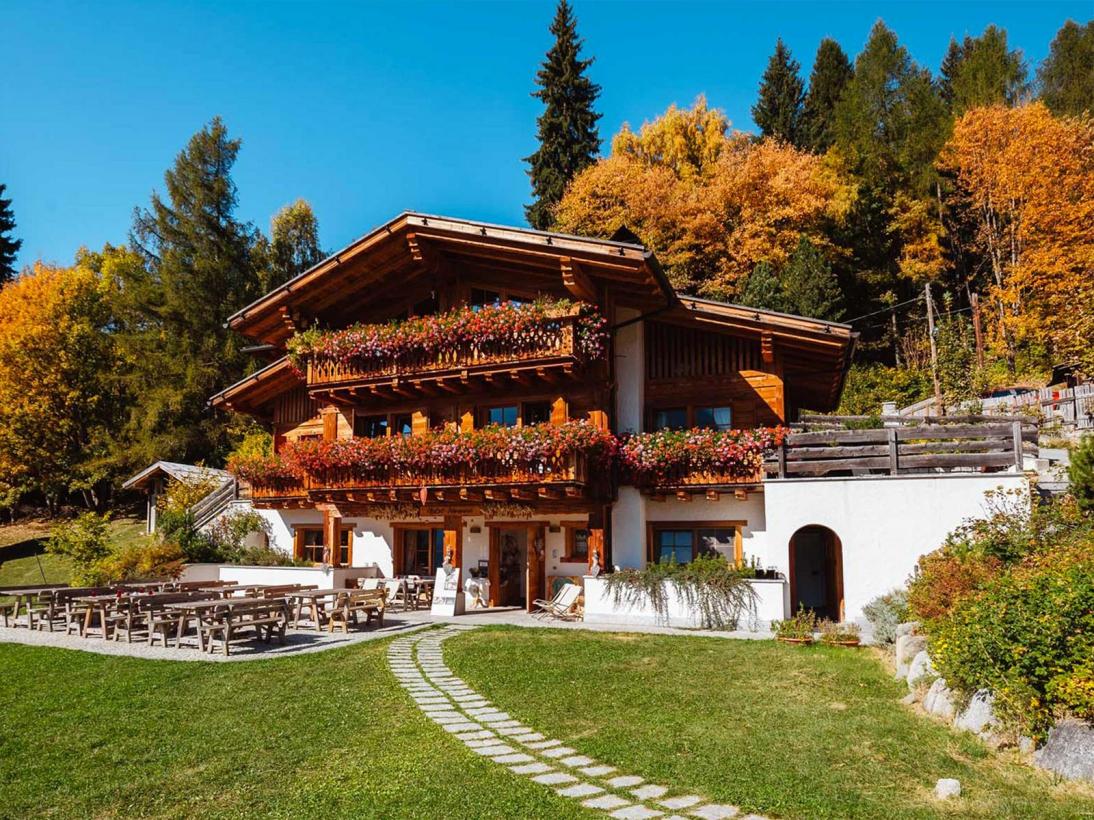 Vista esterno Chalet Fogajard in Trentino