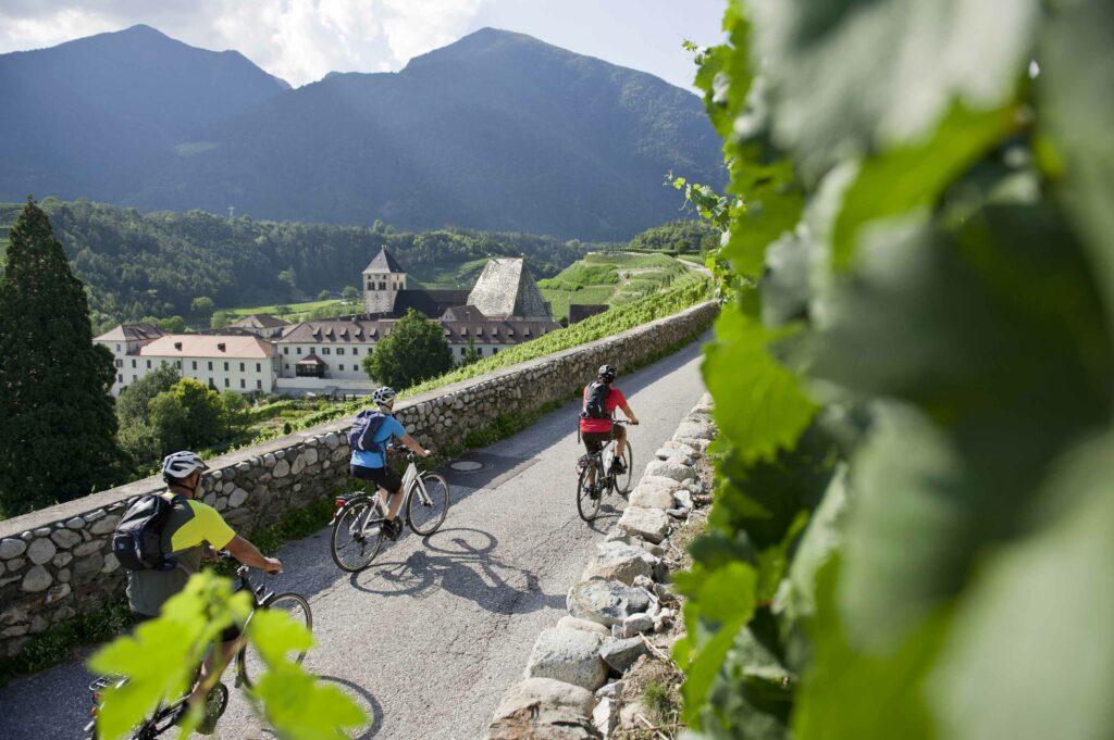pista ciclabile che porta dal Brennero a Bolzano