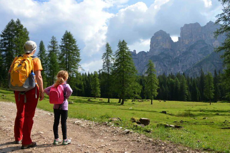 Escursioni in val di zoldo estate