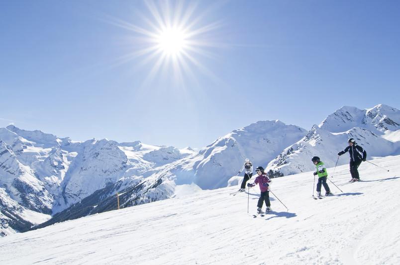 skiarena ortler sciatori