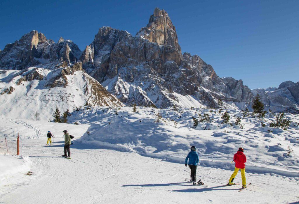 Ski Area Passo Rolle