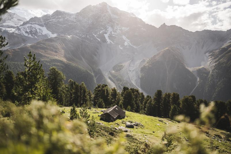 Panorama sul Parco Naturale dello Stelvio