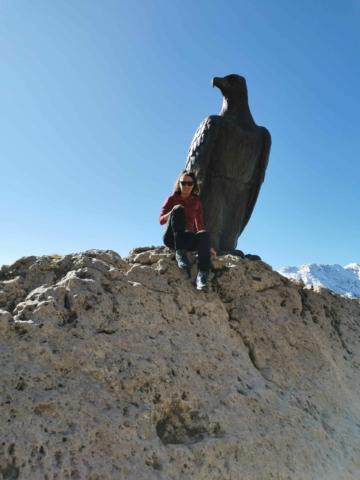 escursione verso il rifugio Roda di Vaèl